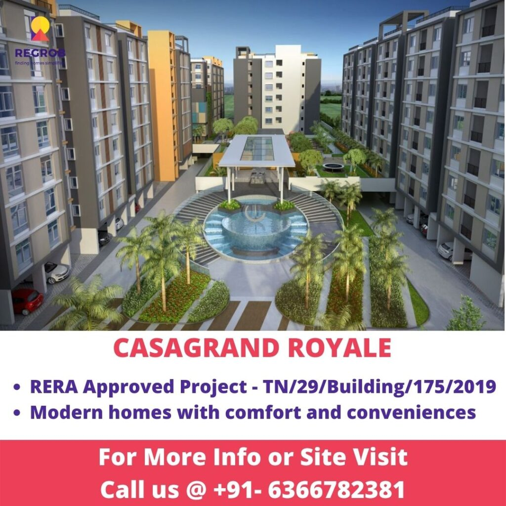 Casagrand Royale Central view