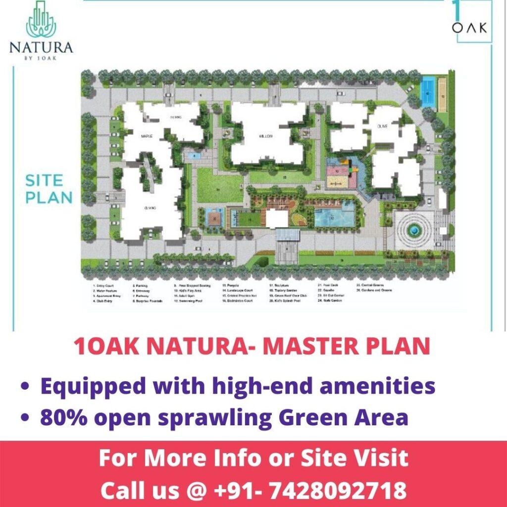 Master Plan of 1OAK Natura