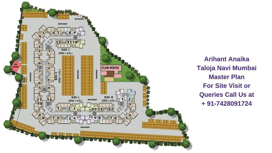 Arihant Anaika Taloja Navi Mumbai Master Plan
