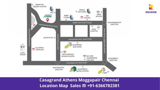 casagrand athens  mogappair chennai